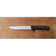 Тесен касапски нож 18 см pvc