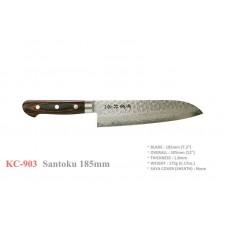 Сантоку нож дамаск Kanetsune