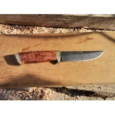 Нож кован български дамаск