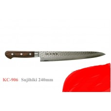 Sujihiki нож дамаск Kanetsune